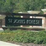 St Johns Forest Sign